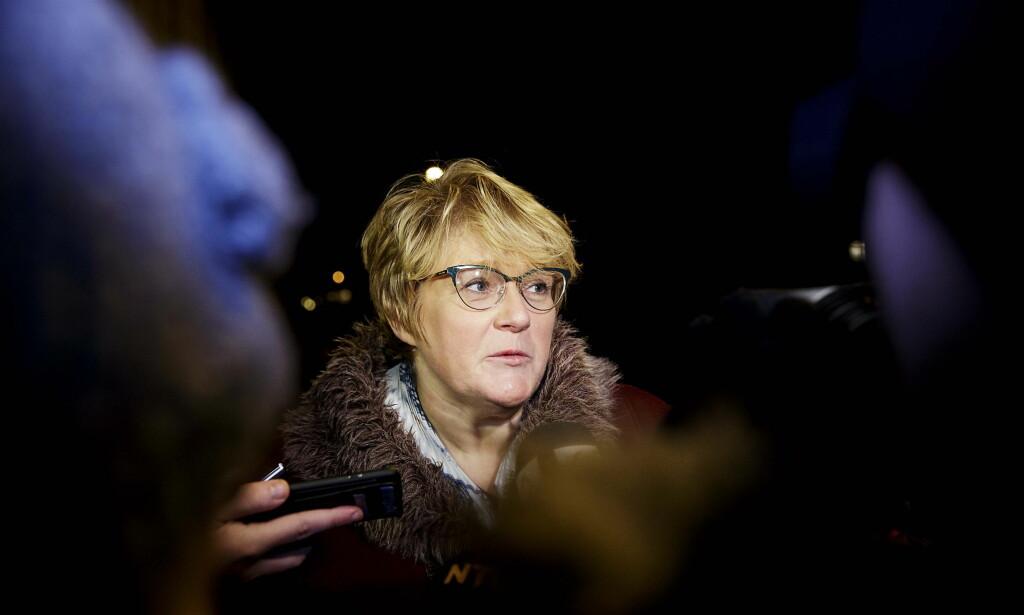 POLITIBESKYTTELSE: Trine Skei Grande har hatt behov for politibeskyttelse etter drapstrusler. Foto: Nina Hansen / Dagbladet