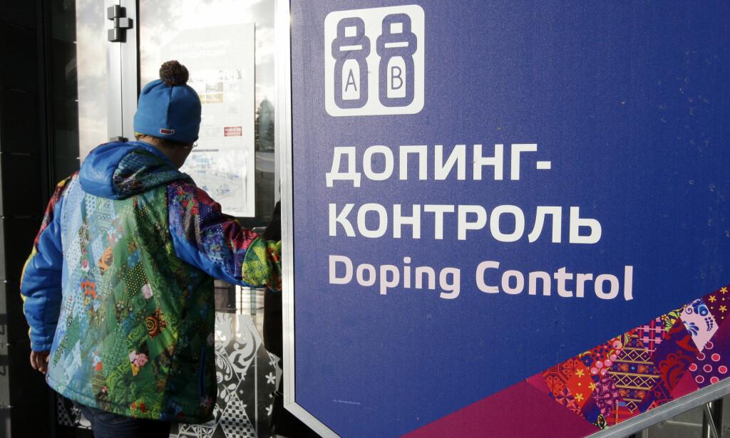 BARE TØYS: Dopingkontrollen under Sotsji-OL var ikke laget for å avsløre juks. Tvert i mot, hevder Richard McLaren i rapporten han la fram i London i går. Foto: AP /Lee Jin-man/ NTB Scanpix