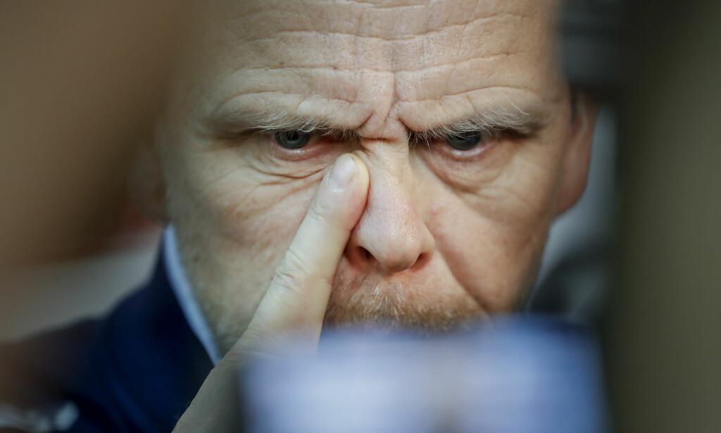 VINNER OG VINNER, MEN: Landslagssjef Thorir Hergeirsson har hatt en tilnærmet perfekt start på EM, men han jobber hardt med å få forsvarspillet til å sitte. Foto: Bjørn Langsem / Dagbladet