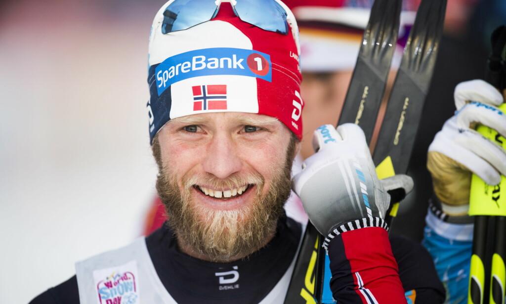 VANT: Martin Johnsrud Sundby gikk til topps på tremila i Davos. Foto: Jon Olav Nesvold / NTB scanpix