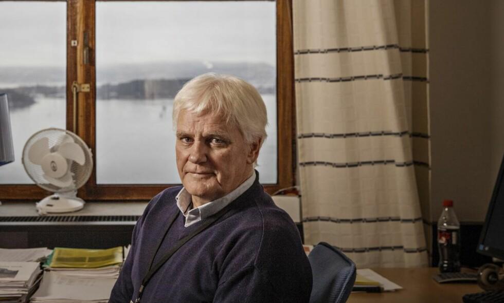 NYE MÅL: Eks- Norway Cup-general Frode Kyvåg er Oslos byrådssekretær for kultur, idrett og frivillighet og ekspertkommentator under håndball-EM. Men han er ikke ferdig med Norway Cup. Alle foto: Jørn H Moen