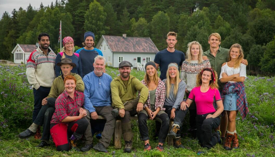 INGEN KJÆRE MOR: Et «Farmen»-opphold gjør noe med helsa, på godt og vondt. Mange av årets deltakere har opplevd store kroppslige forandringer. Foto: Espen Solli / TV 2