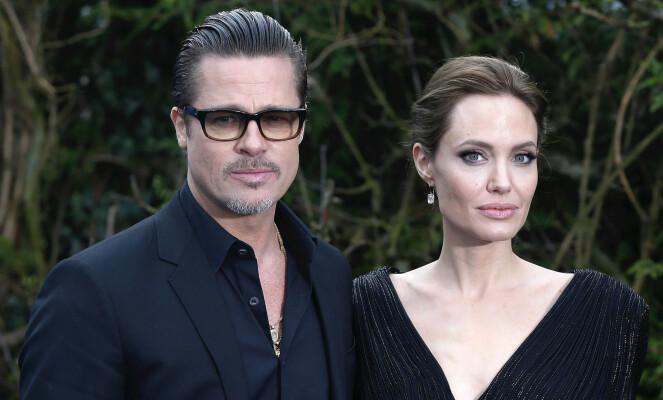 KREVER NARKOTEST: Angelina Jolie skal ifølge Daily Mail kreve at Brad Pitt testes for alkohol- og narkotikamisbruk fire ganger i måneden. Foto: Scanpix