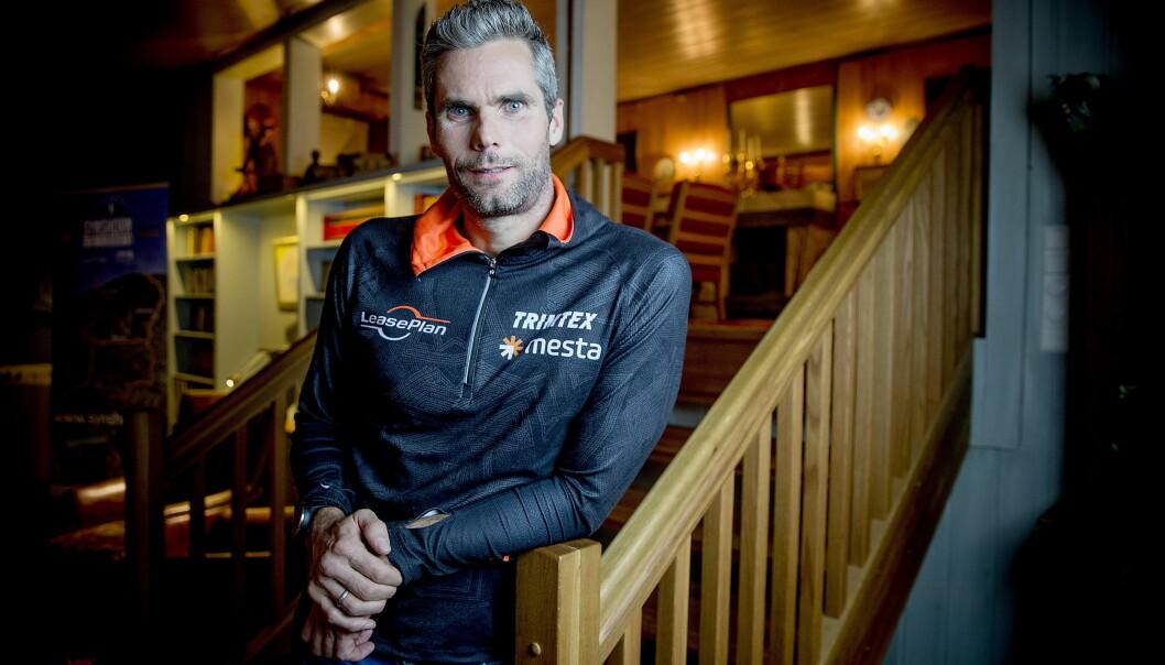 <strong>FRUSTRERT:</strong> Thomas Alsgaard opplever at han ikke når fram med sitt budskap til Vegard Ulvang. Foto: Bjørn Langsem / Dagbladet