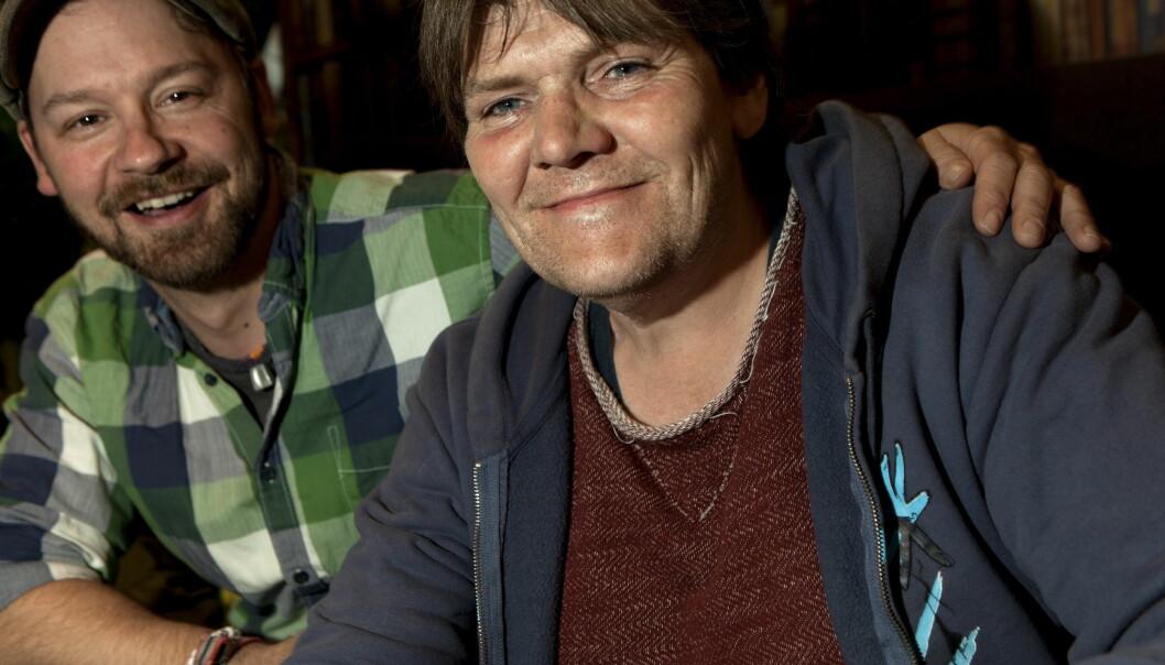 <strong>VENNER:</strong> Kjell Gunnar Holten er én av flere Petter Nyquist ble kjent med i gatemiljøet i Oslo.  Foto: Anders Grønneberg