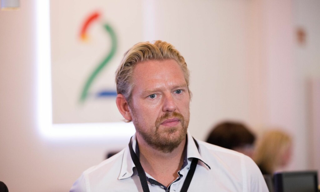 PRESSEETIKK: Artikkelforfatteren mener TV 2s nyhets- og sportsredaktør Jan Ove Årsæther har en uansvarlig holdning til presseetikk. Foto: Emil Weatherhead Breistein / NTB Scanpix