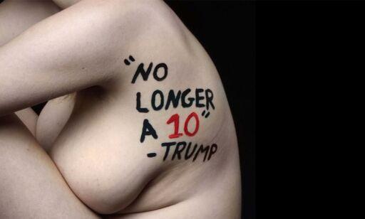 image: 18-åring skaper oppsikt med nakenprosjekt mot Trump