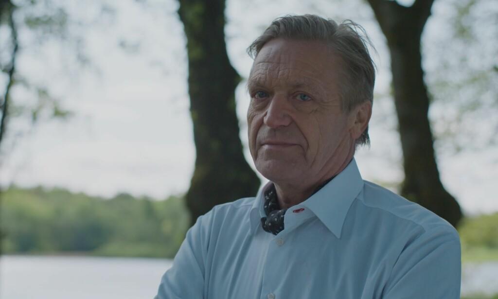 SJEKKER INN: Terje Strømdahl er aktuell i «Hotel Cæsar» som den utspekulerte forretningsmannen Rasmus Mohn. Foto: TV 2