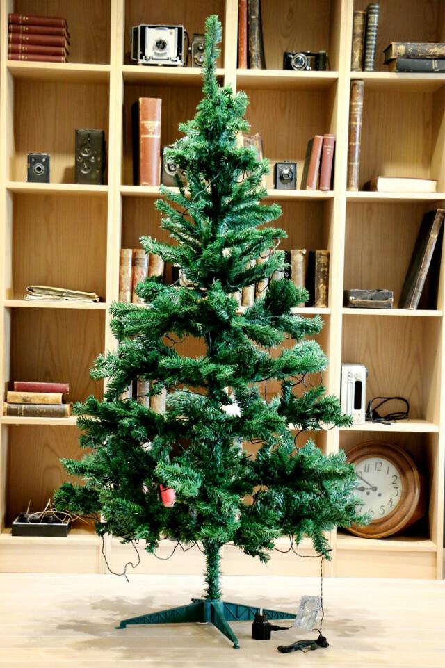 Siste Test av kunstige juletrær - Du grønne, glitrende tre av plast AU-74
