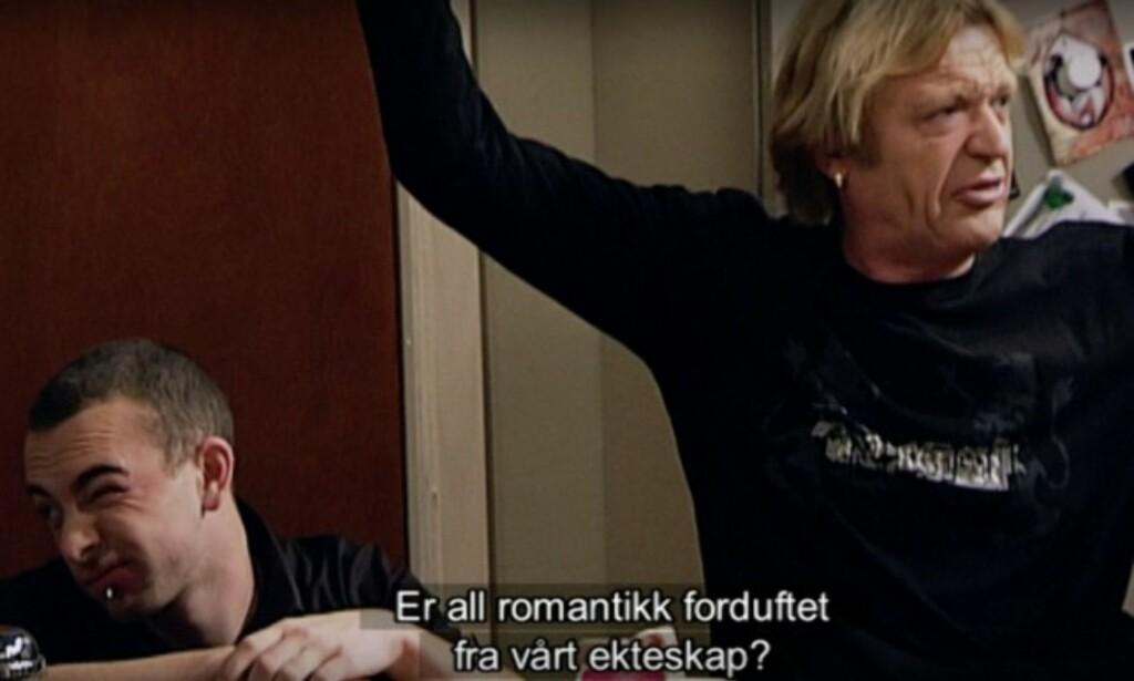 ÅTTE ÅR SIDEN: Terje Strømdahl spilte i 2006 rollen som Kjell Ivar Liland. Foto: Skjermdump TV 2