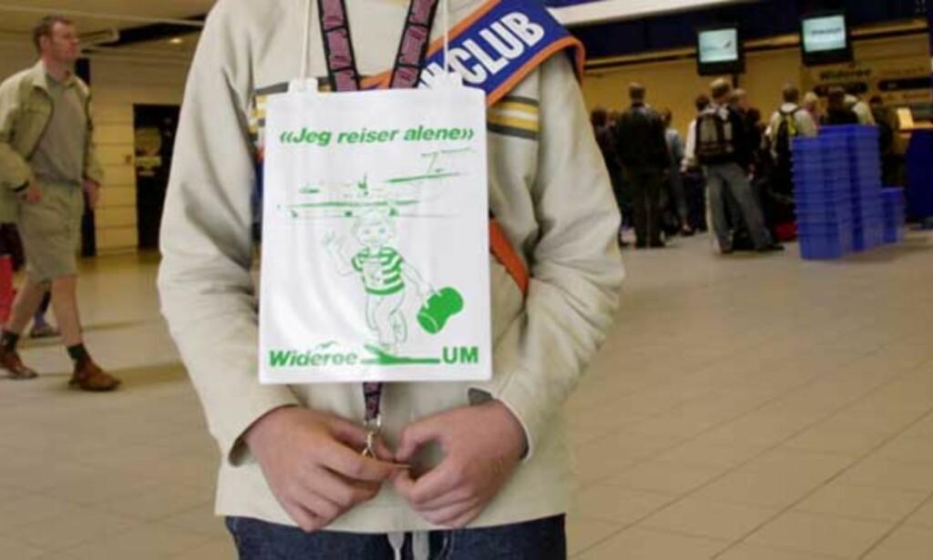 BLIR IKKE HENTET: Hvert år reiser flere titalls tusen norske barn alene med fly. Mange blir ikke hentet på flyplassen. Illustrasjonsfoto: Scanpix