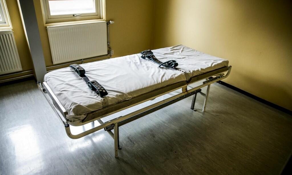OMSTRIDT TVANG: Å bruke tvang er vanskelig for både pasienten, pårørende og helsepersonell. Kvalitetssikret tvangsbruk må være målet, skriver artikkelforfatterne. Foto: Stein J Bjørge / Aftenposten / NTB Scanpix <div><br></div>