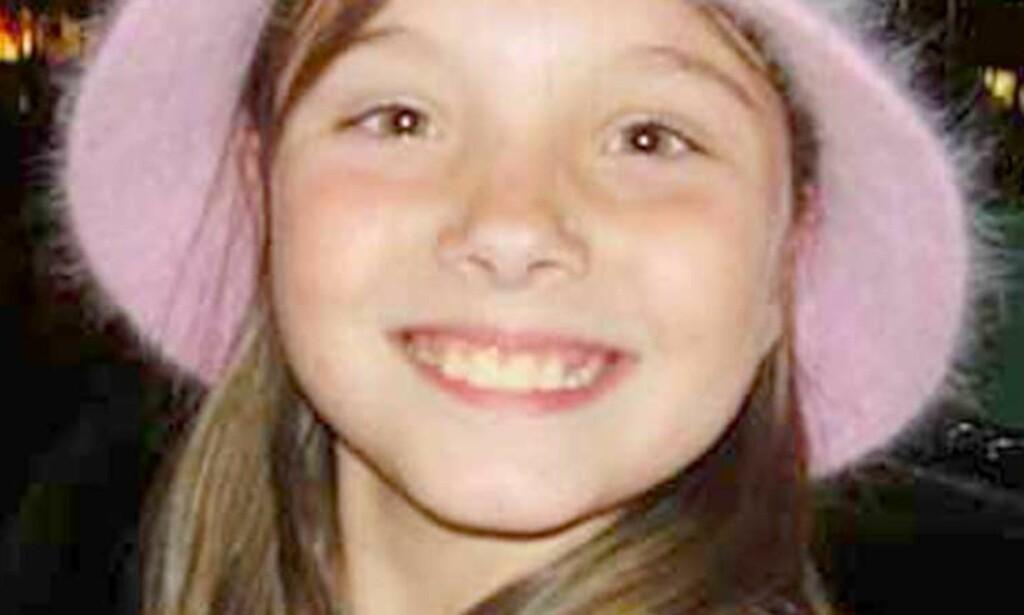 MISBRUKT OG DREPT:  Ni år gamle Jessica Lundsford ble kidnappet, misbrukt og drept. Nå er en av naboene tatt for ugjerningen. Foto: SCANPIX/AP