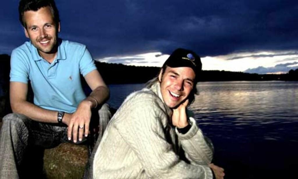 FESTIVALSJEFER:Ari Behn og Harald Zwart inviterte til Føling i fjæra. Zwart lover å rydde opp i økonomirotet. Foto: John Terje Pedersen