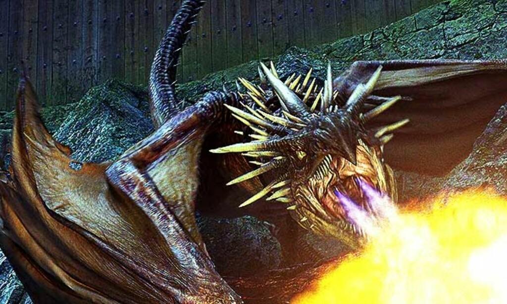 DENNE DRAGEN møter du i den fjerde filmen om Harry Potter. «Harry Potter og ildbegeret» har norgespremiere 25. november. Foto: Warner Bros/Sandrew Metronome Norge