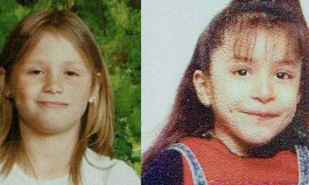 DREPT: Laura Hobbs (t.v) og Krystal Tobias.