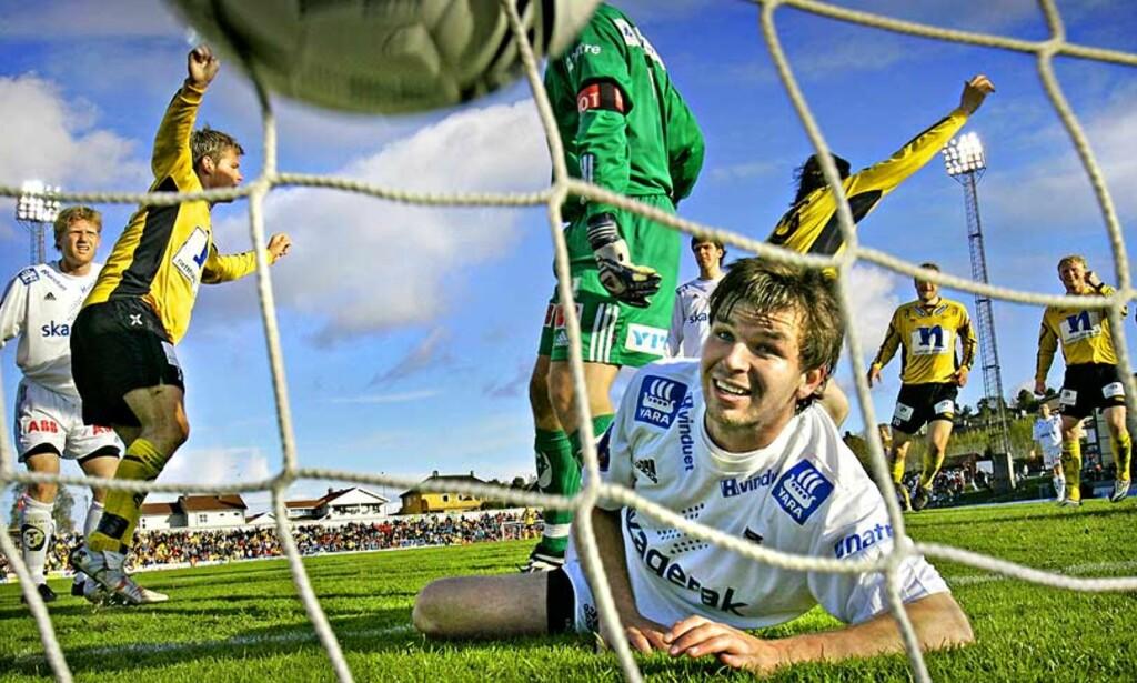 OGSÅ MESTSCORENDE: Start skaper ikke bare flest sjanser. Laget scorer også flest mål i Tippeligaen. Foto: ARNT E. FOLVIK