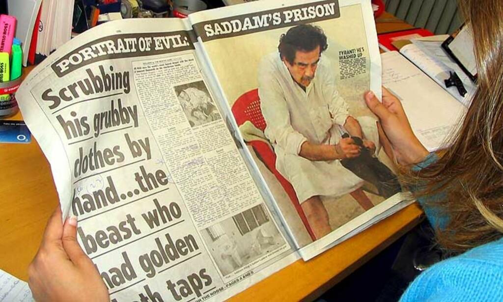 image: Nærmer seg rettssaken mot Saddam