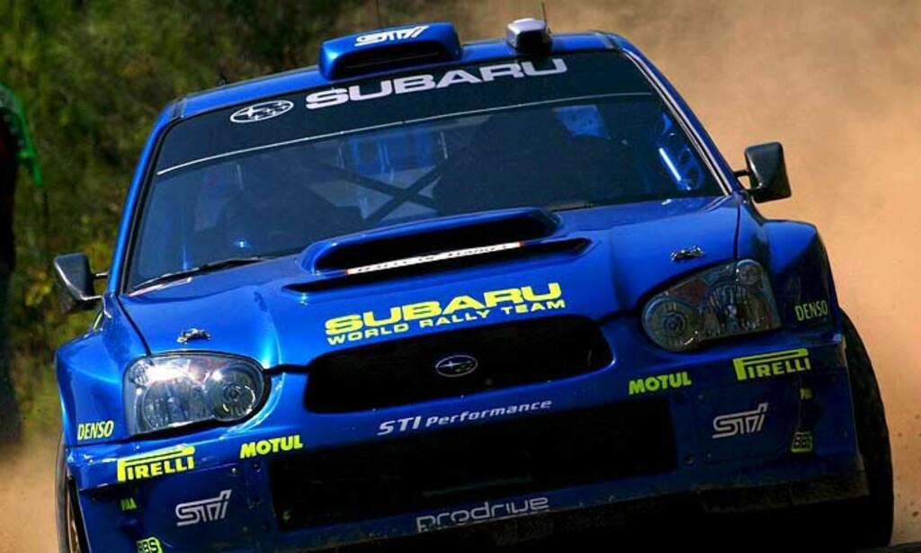 STARTVANSKEER: Etter en dårlig start kjørte Petter Solberg seg opp, før han begynte å tape tid igjen. Foto: EPA