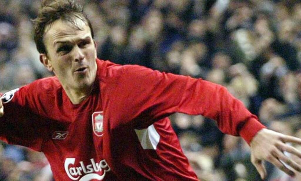 ANKER: Dietmar Hamann er som oftest det defensive ankeret på Liverpools midtbane. AP