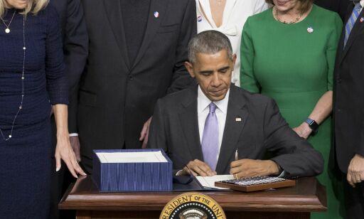 image: Obama bruker 50 milliarder for å «få en slutt på kreft slik vi kjenner den»