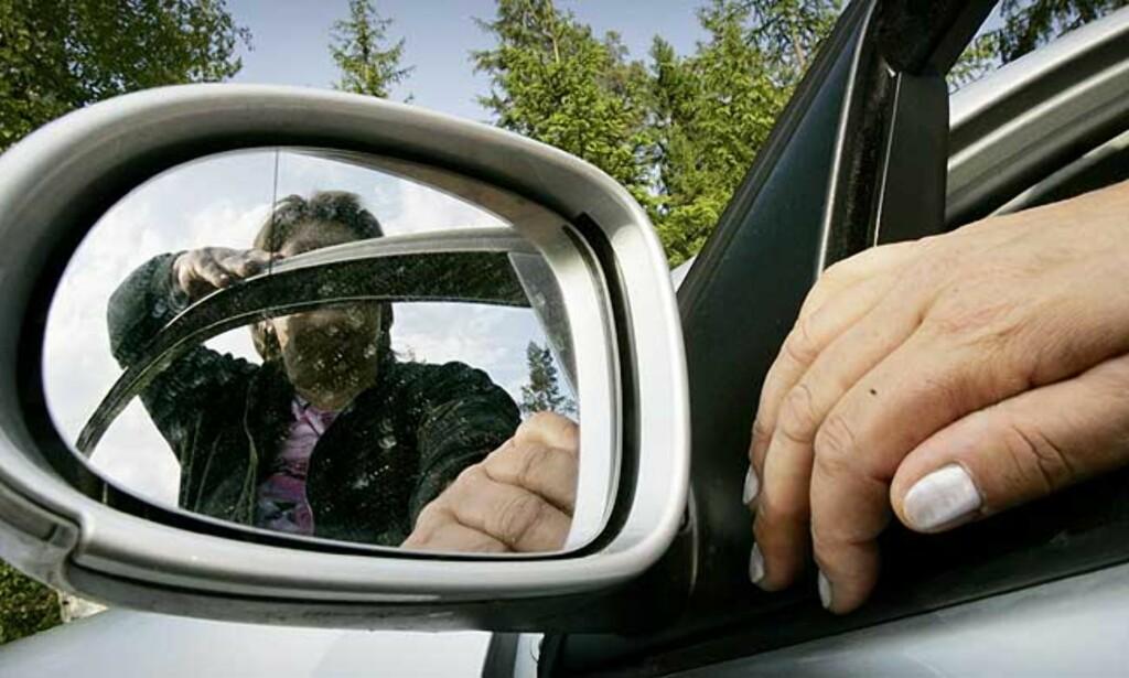 OVERFALT: En fremmed kvinne slo løs på «Grete» etter at hun glemte å bruke blinklyset i en forbikjøring. «Grete» fikk blant annet hjernerystelse og sliter med kraftig hodepine, trøtthet og frysninger. Foto: Jon Terje H. Hansen
