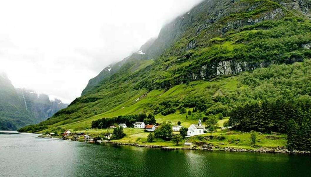 <strong><b>VERDENSARV:</strong></b> Nærøyfjorden i Sogn og Fjordane. Foto: METTE MØLLER