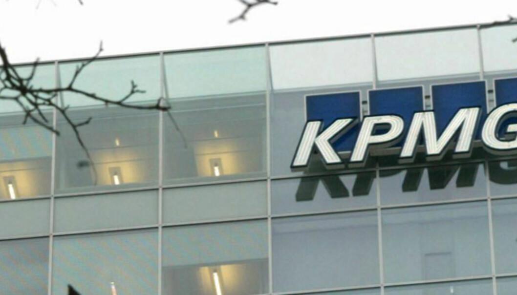 <strong><B>MÅ PUNGE UT:</strong> </B>KPMG må betale en erstatning som svir, selv for revisorgiganten, etter finansskandalen. Foto: SCANPIX