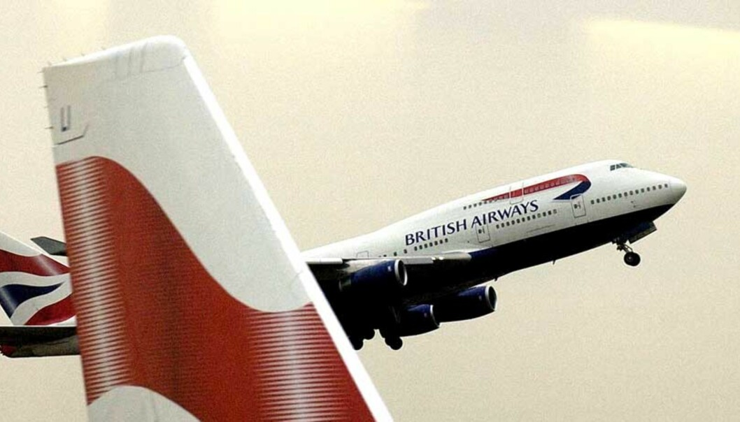 Ekplosjon ved British Airways i Teheran