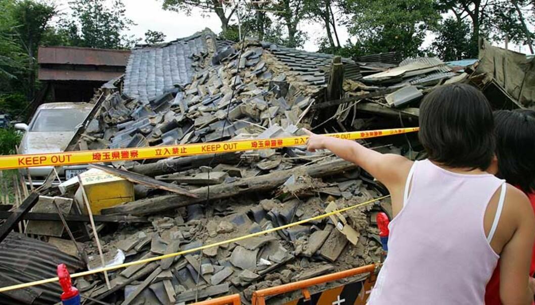 Japan truffet av to tsunamier