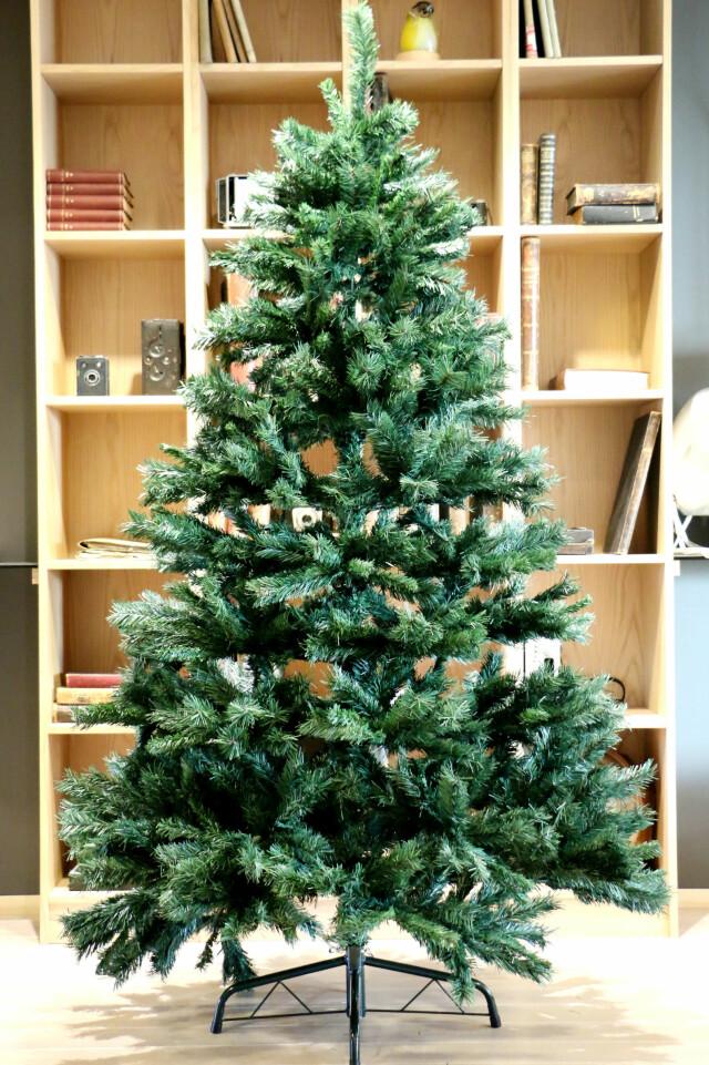 Storslått Test av kunstige juletrær - Du grønne, glitrende tre av plast UN-75