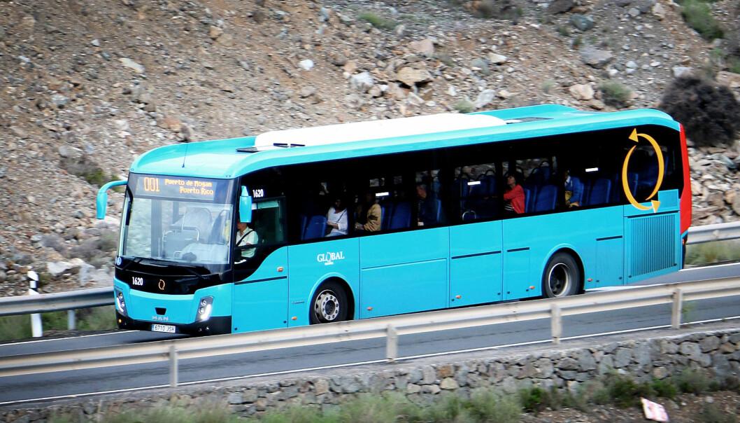 <strong>5,95 EURO:</strong> Det er ingenting å si på prisen om du ordner transport til sørlige deler av Gran Canaria på egenhånd. Foto: Ole Petter Baugerød Stokke