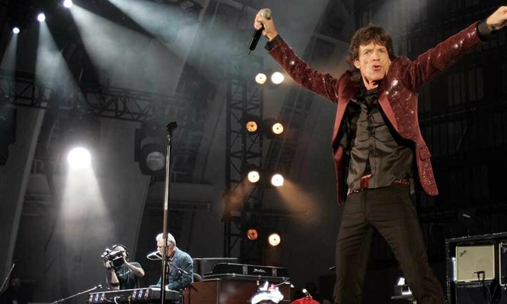 BYEN ER BERGEN: Og bandet er Stones. Til sommeren blir det storbesøk. FOTO: REUTERS/SCANPIX