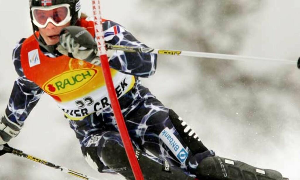 4. PLASS: Plutselig er Kjetil Jansrud et slalåmnavn å regne med. Foto: Reuters/Scanpix