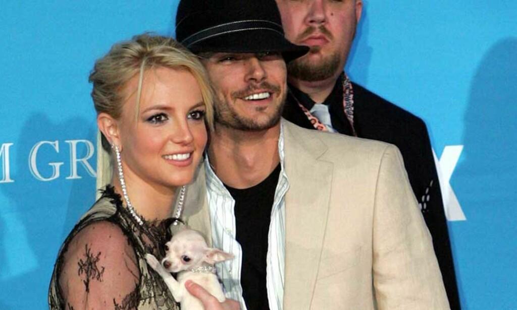 EKTESKAPET I TRØBBEL?: Flere sladremagasiner har rapportert at Britney og Kevin Federline er i ferd med å skilles. Nå har fansen organisert seg i et forsøk på å framskynde prosessen. FOTO: SCANPIX/AP