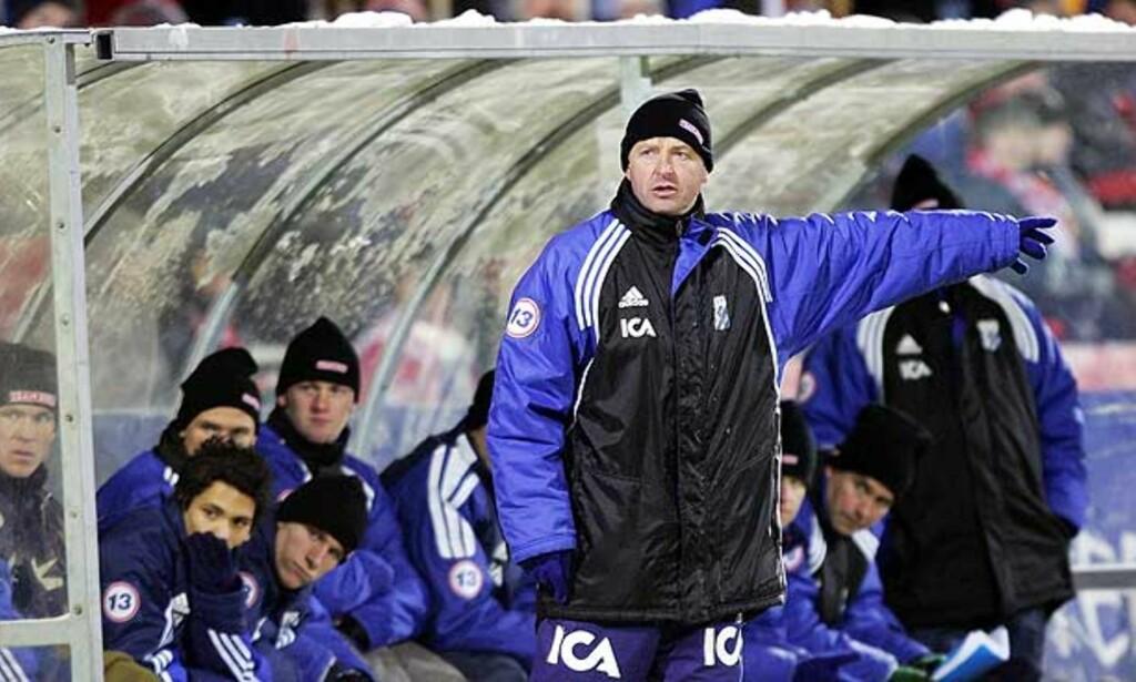 ØKONOMISMELL: Arne Erlandsens IFK Göteborg fikk seg en skikkelig førjulssmell. Foto: SCANPIX