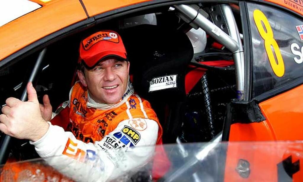 SÅ NÆRE: Men likevel to mil unna fullført Rally Monte Carlo. Henning Solberg kjørte ut i første sving på den siste av 18 fartsetapper. Foto: Scanpix