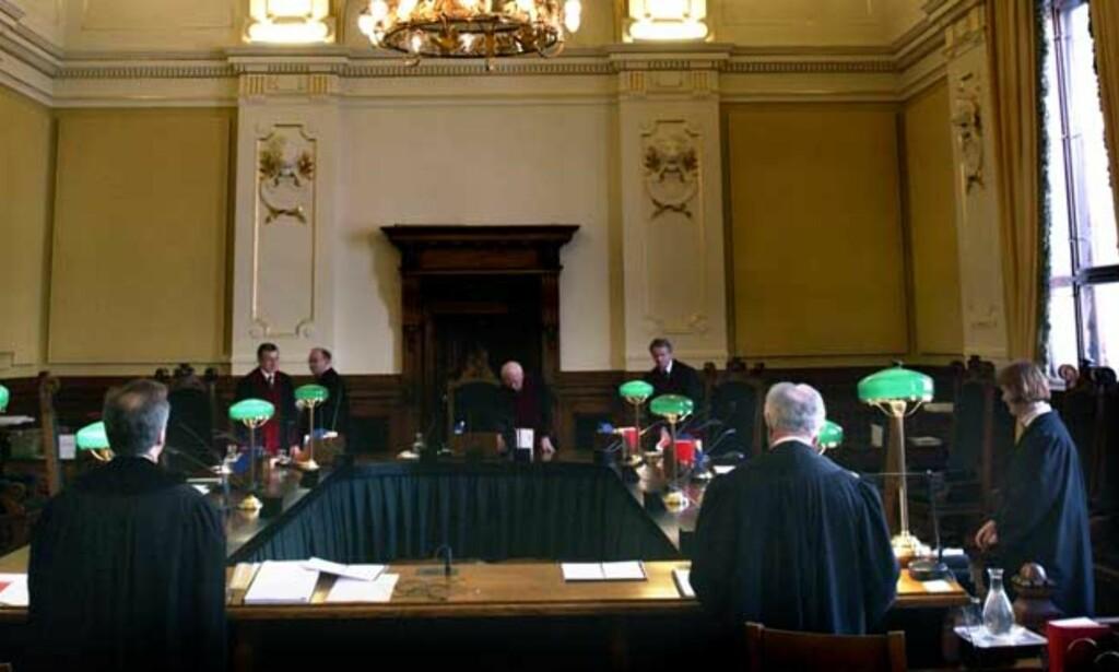 BØYER SEG: Domstolene har sakte bøyd seg for presset fra politikere og påtalemyndigheten om strengere straffer i kriminalsaker. Foto: Agnete Brun