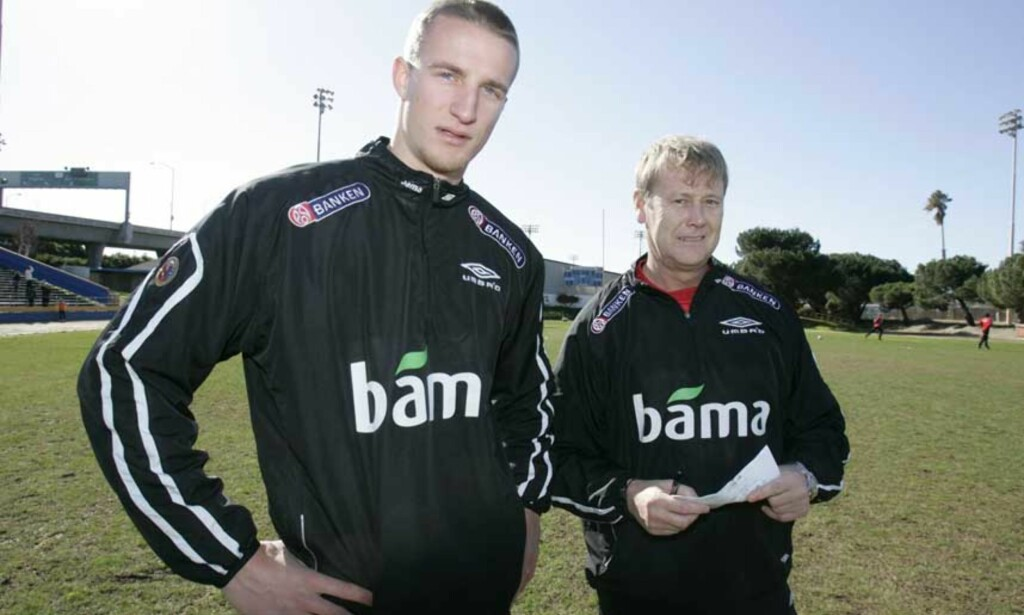 DYRKES:  Den ferske FC København-spilleren Brede Hangeland skal dyrkes som midtstopper av Åge Hareide de kommende åra. Foto: Scanpix
