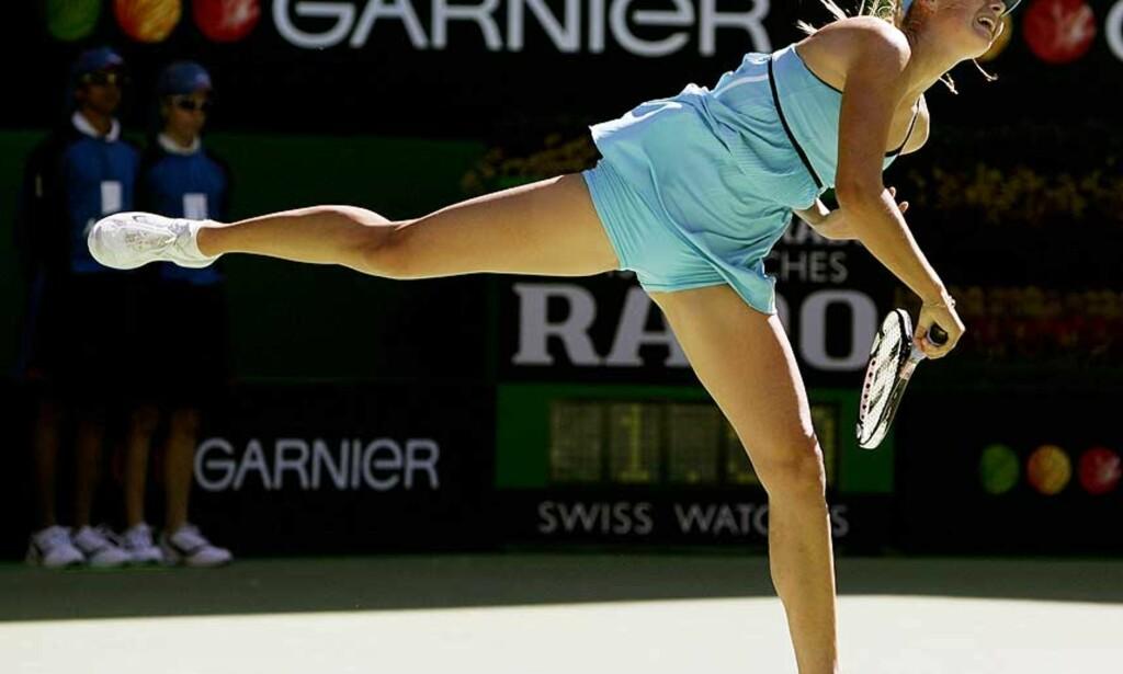 image: Sjarapova til semifinale i natt