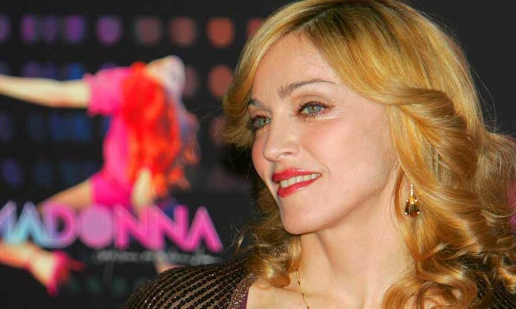 NYE TILSTÅELSER: Verre enn terrorister, glad i templer og besatt av rødvin. Slik framstiller Madonna seg selv i nytt intervju. Foto: SCANPIX