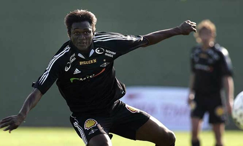 KLAR: Yssouf Kone (24) er klar for Rosenborgs Uefacup-kamper. Foto: Gorm Kallestad/Scanpix