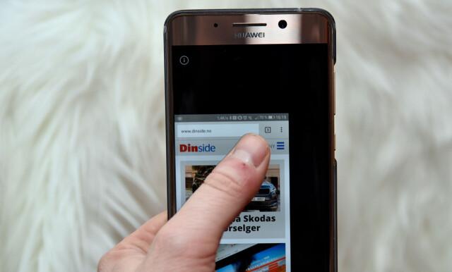 Rørig 18 tips til deg med Huawei-telefon - Visste du at du bare kan KF-12