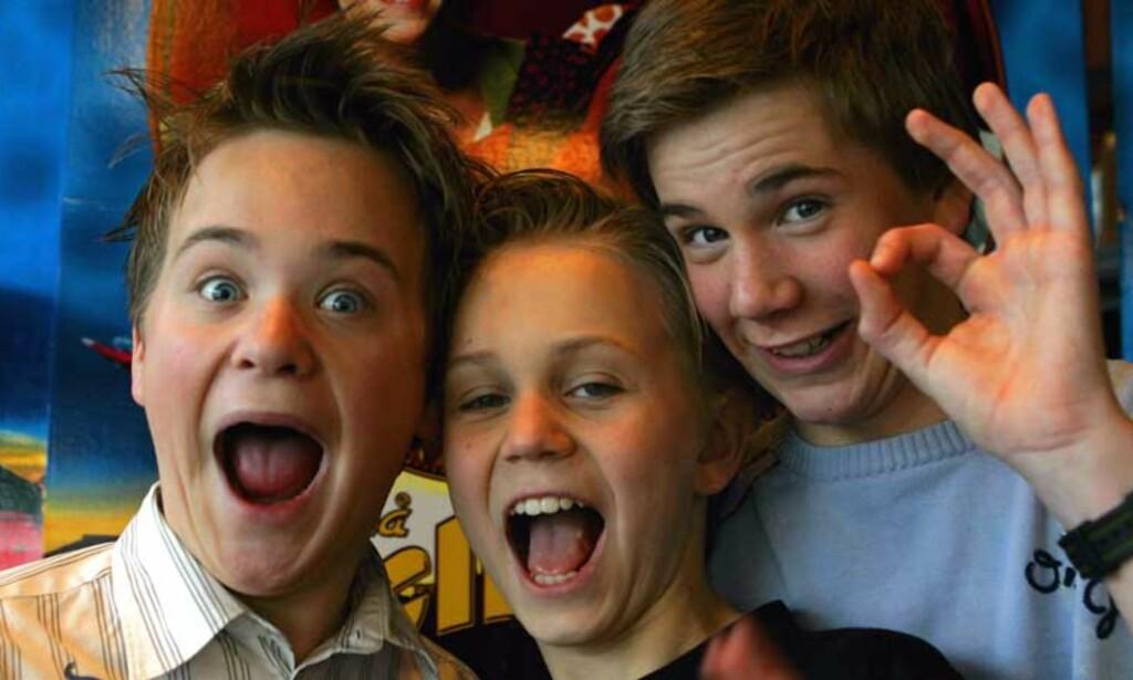 TREKLØVER: Egon, Benny og Kjell er klare til å svare på spørsmål fra leserne. Foto: SCANPIX
