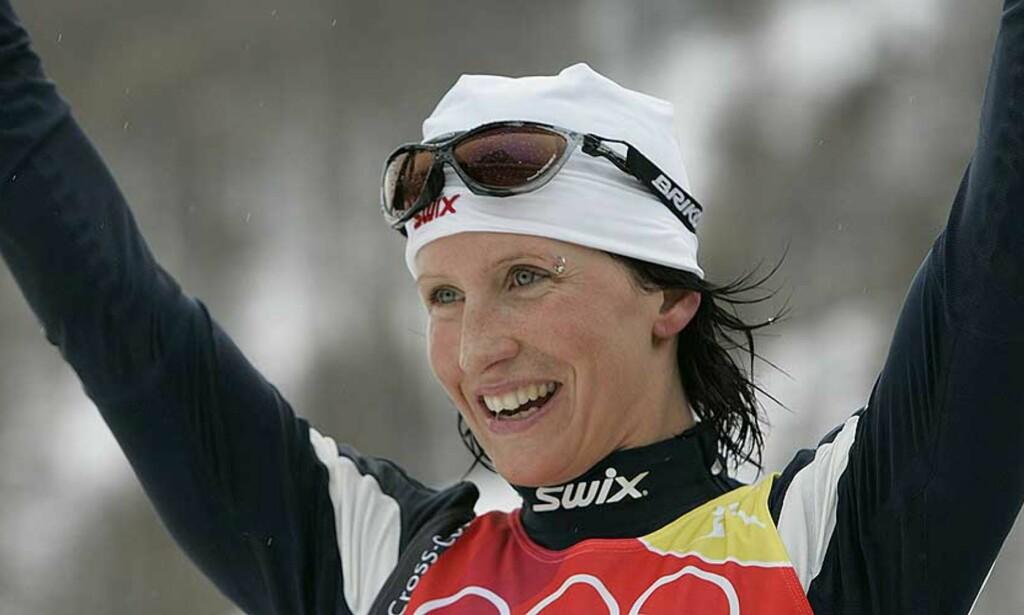 JUBELJENTE: Marit Bjørgen slo tilbake etter mye motgang. Foto: Cornelius Poppe/Scanpix