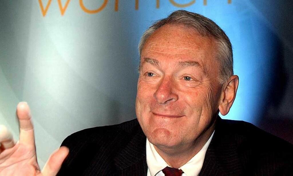 SKEPTISK: Wada-sjef Dick Pound tror det kan foregå doping også i langrennsleirene.