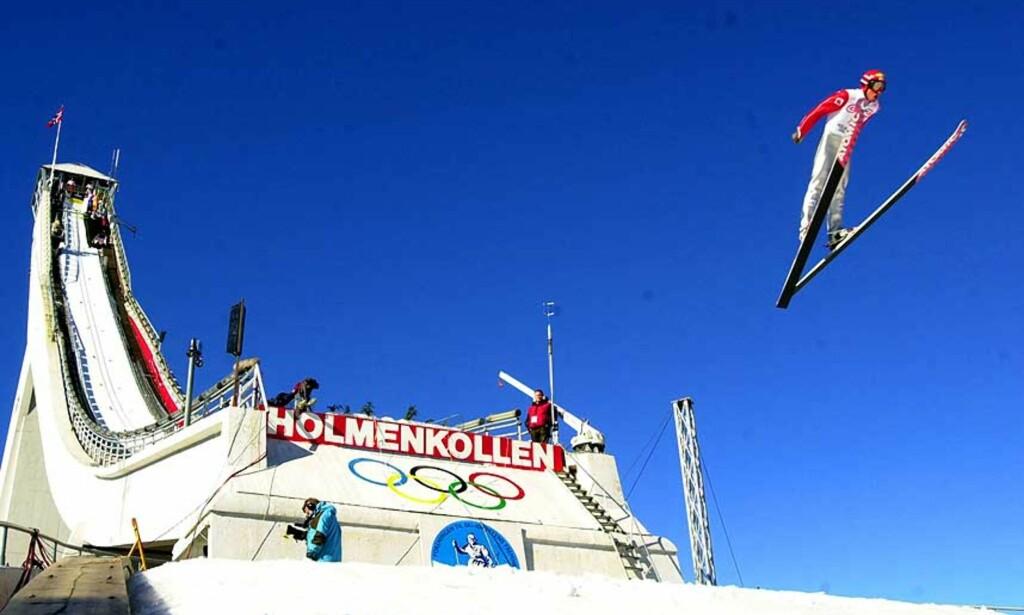 TRENGER FORNYELSE: Uten en ny Holmenkollenbakke kan vi si farvel til både ski-VM og Holmenkollenrennet, mener skipresidenten. Foto: Scanpix