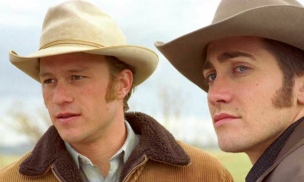 AND THE WINNER IS: Brokeback etter filmen Brokeback Mountain er det mest brukte Hollywood-året. 38 millioner treff på Google, mens bare 10 millioner har sett filmen. Foto: Scanpix