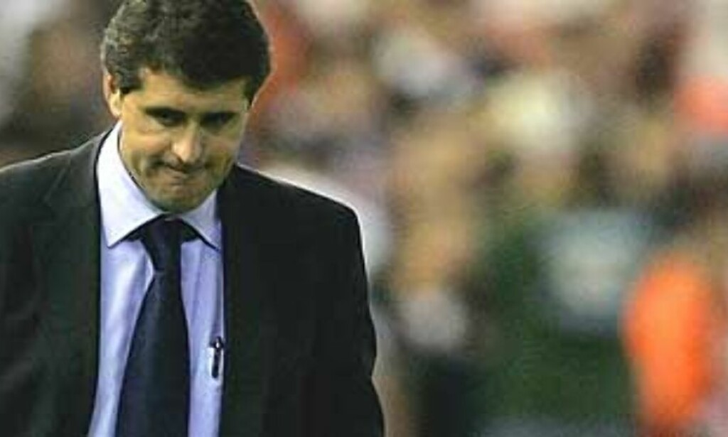 FÅR IKKE FORTSETTE: Juan Ramon Lopez Caro åpnet med gode resultater, men blir ikke Real-sjef på permanent basis. Foto. Scanpix/Ap