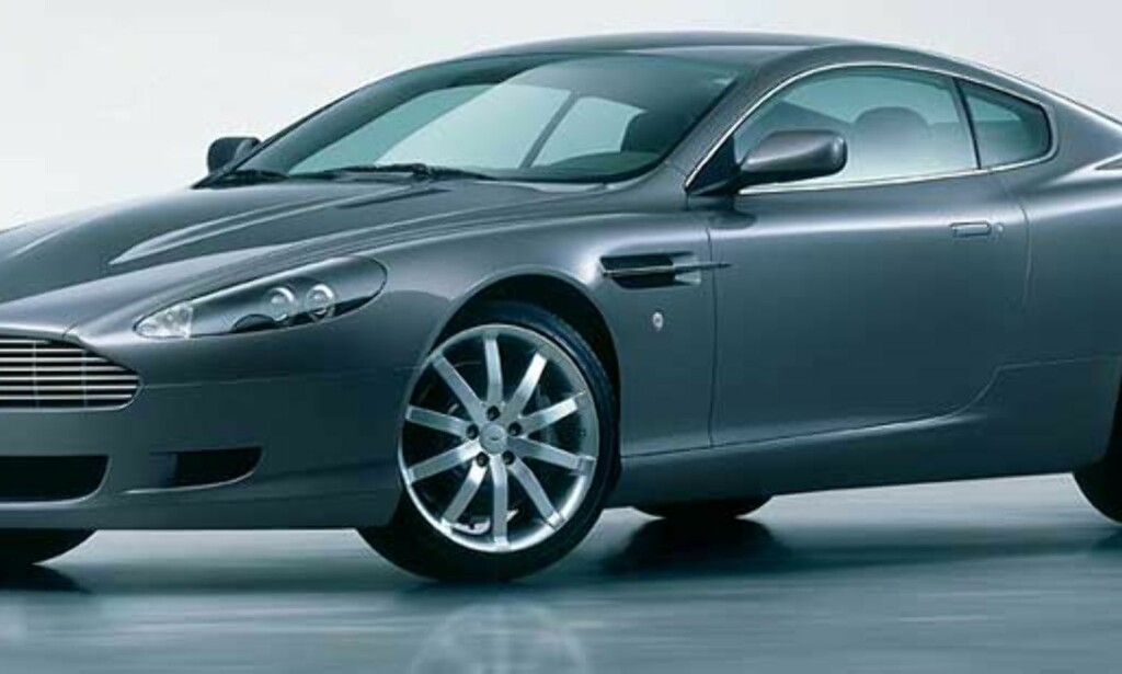 ENGLAND KJØRER BRITISK: Sven-Göran Eriksson kan sende en hel midtbanefirer på banen som har Aston Martin som sin favorittbil. Foto: Aston Martin